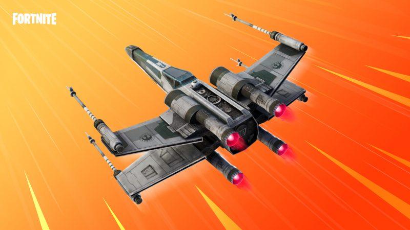 "х в фортнайт 2 800x450 - Дельтаплан Истребитель типа ""X"" в подарок за предзаказ Звездных войн"
