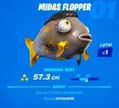 мидаса в фортнайт 2 1 - Как поймать рыбу Мидаса?