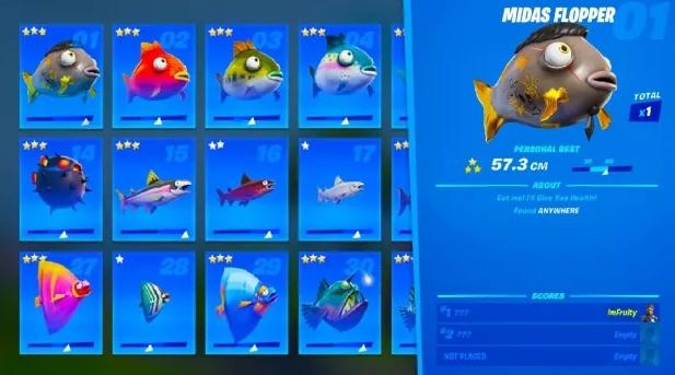 мидаса в фортнайт 2 - Как поймать рыбу Мидаса?