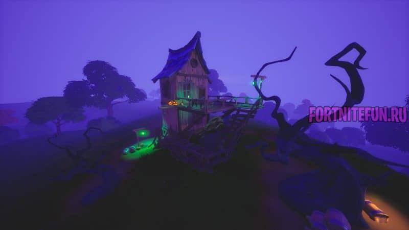 разные ведьмовские хижины 800x450 - Испытания Фортнайт Кошмары 2020: Часть 3
