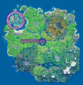 находится коралловая крепость в фортнайт 293x300 - Коралловая Крепость (Coral Castle)