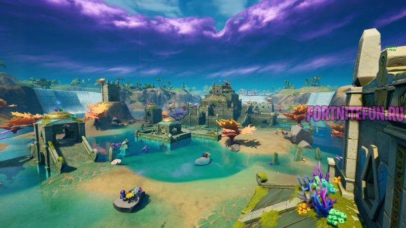 крепость в фортнайт 2 800x450 - Коралловая Крепость (Coral Castle)