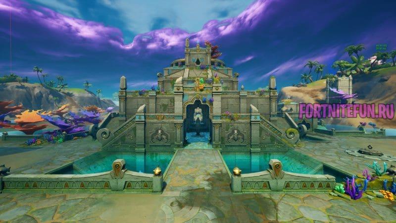 крепость в фортнайт 3 800x450 - Коралловая Крепость (Coral Castle)