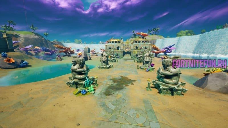крепость в фортнайт 4 800x450 - Коралловая Крепость (Coral Castle)