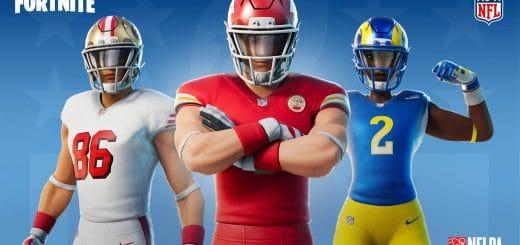NFL в наборе Классная команда появились в магазине фортнайт 2 520x245 - Скины NFL 2020 появились в магазине фортнайт