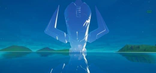 в небе фортнайт 520x245 - Скин Галактуса появился в файлах фортнайт