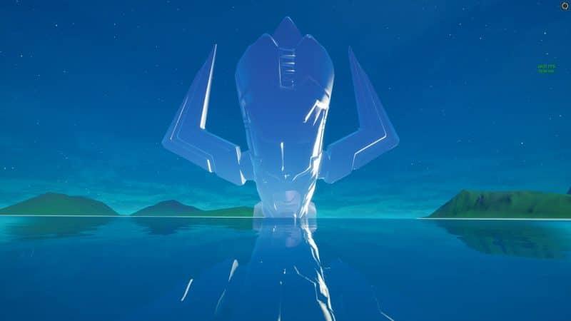в небе фортнайт 800x450 - Скин Галактуса появился в файлах фортнайт