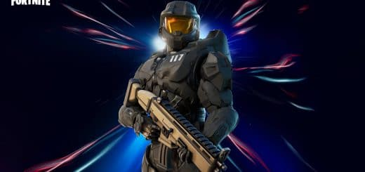 стиль мастера чифа в фортнайт 520x245 - Мастер Чиф из Halo уже в магазине фортнайт