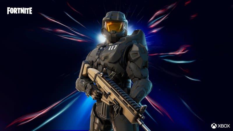стиль мастера чифа в фортнайт 800x450 - Мастер Чиф из Halo уже в магазине фортнайт