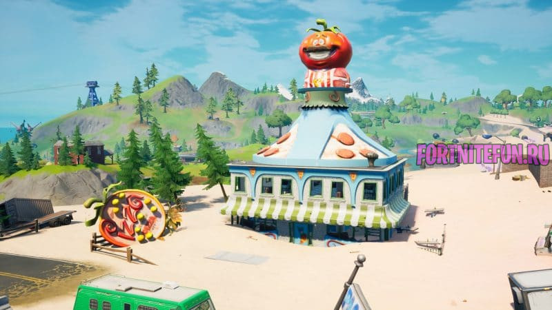 Дарбурргер The Durrr Burger фортнайт 800x450 - Пиццерия (The Pizza Pit)