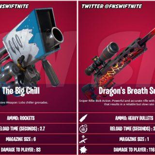 Новое экзотическое оружие и персонаж в обновлении 15.10 фортнайт