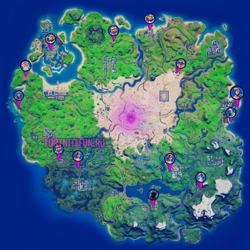 улучшать оружие на карте 15 сезона фортнайт 800x800 - Где улучшать оружие на карте 15 сезона фортнайт