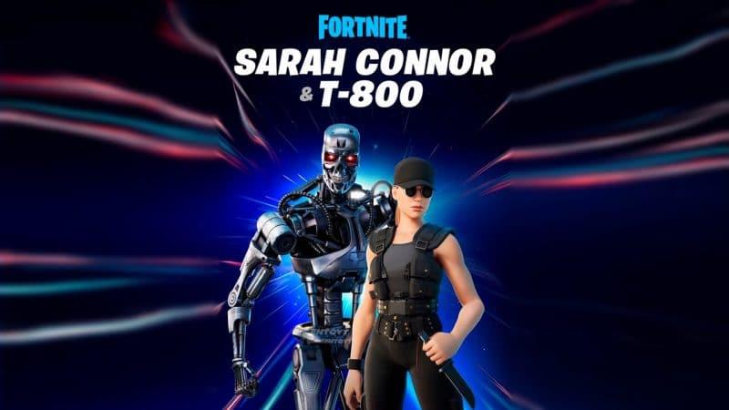 и Сара Коннор появились в магазине предметов фортнайт 800x450 - Терминатор и Сара Коннор появились в магазине предметов фортнайт