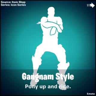 gangnam style добавят в фортнайт 320x320 - Эмоцию Gangnam Style добавили в фортнайт