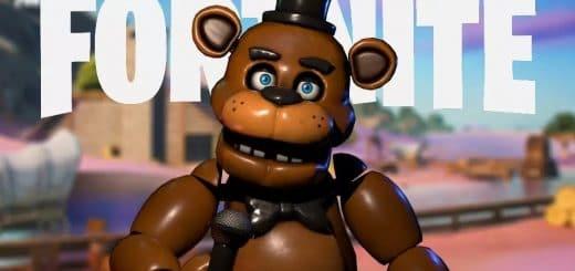 из Five Nights at Freddys появится в фортнайт 520x245 - Персонаж из Five Nights at Freddy's появится в фортнайт