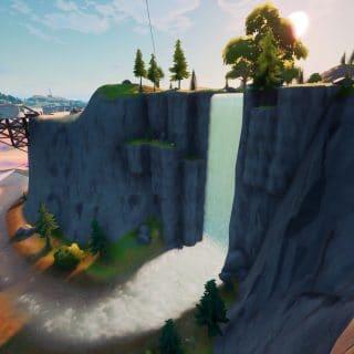 Панорамную площадку Великий водопад и Высокую гору 4 320x320 - Эпические испытания 12-й недели в фортнайт — чит-карты и прохождение