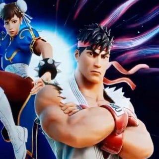 0000 320x320 - Коллаборация Фортнайт и Street Fighter: трейлер, скины, эмоции