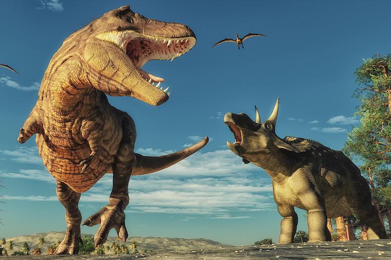 скоро в фортнайт - Динозавры скоро в фортнайт!