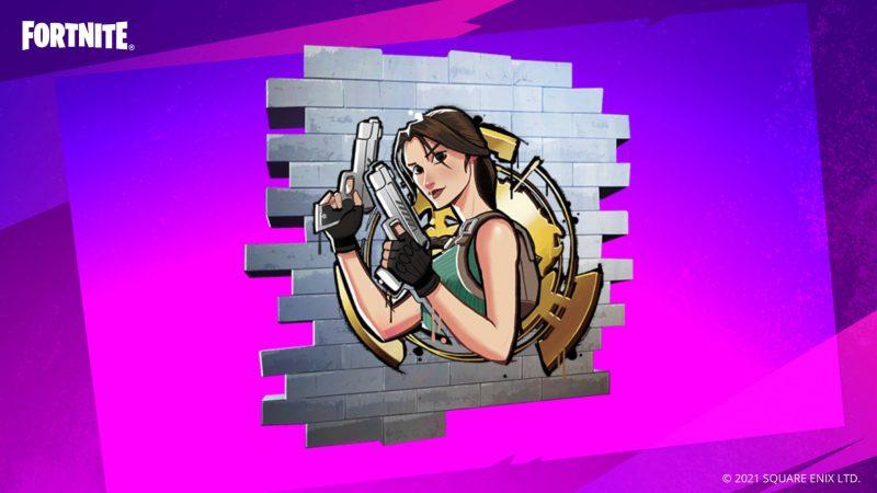 на бесплатное получение граффити Лары Крофт в фортнайт 800x450 - Код на бесплатное получение граффити Лары Крофт в фортнайт
