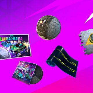 Llama Rama награды и испытания в Фортнайт и Rocket League 320x320 - Испытания Llama-Rama в Rocket League - прохождения и награды в фортнайт