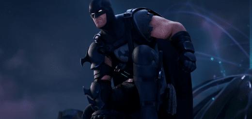 638D329D D00A 4548 A13A 68E4819B0160 520x245 - Вид скина Бэтмен из Эпицентра в броне и трейлер комикса по фортнайт