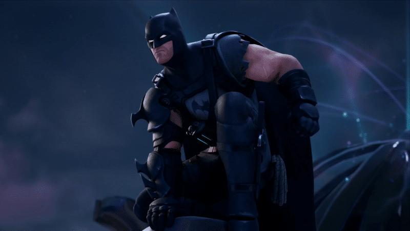 638D329D D00A 4548 A13A 68E4819B0160 800x450 - Вид скина Бэтмен из Эпицентра в броне и трейлер комикса по фортнайт