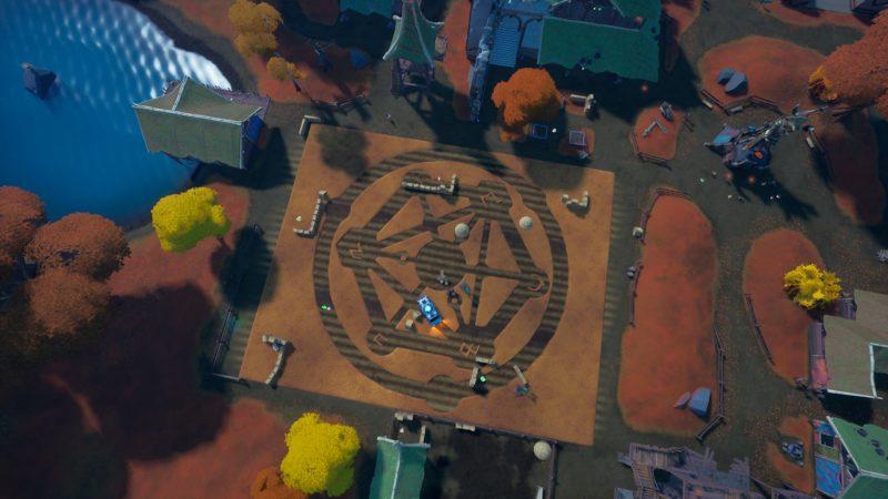 поле фортнайт появились странные символы 2 800x450 - На поле фортнайт появились странные символы