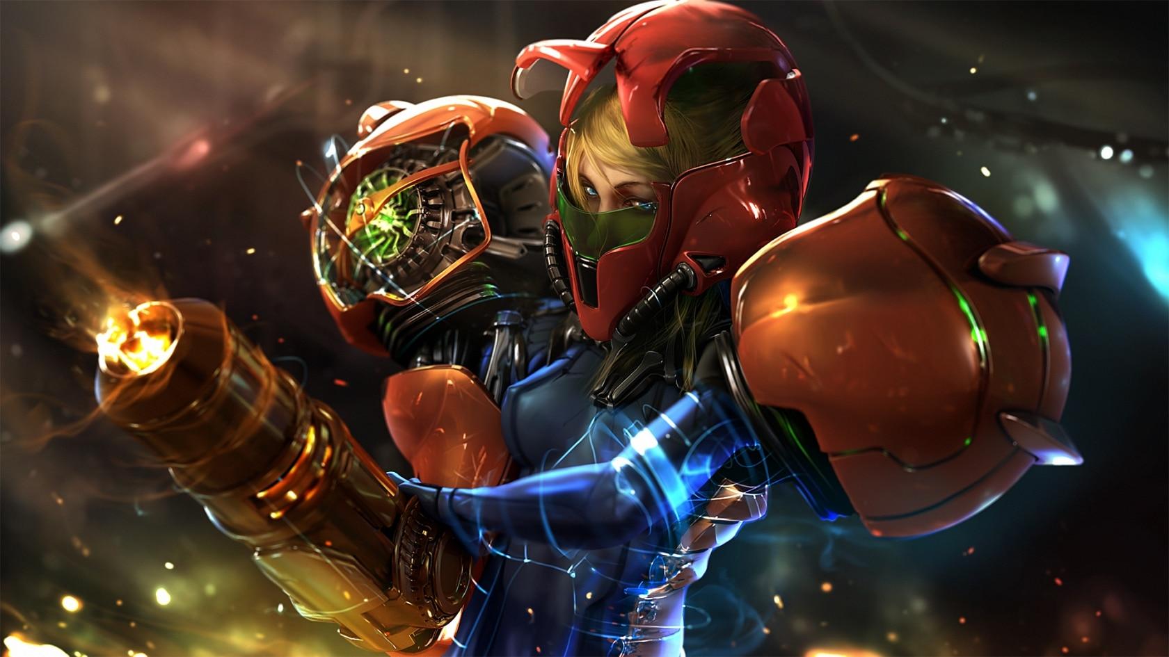 Аран из Metroid может появиться в фортнайт - Самус Аран из Metroid может появиться в фортнайт