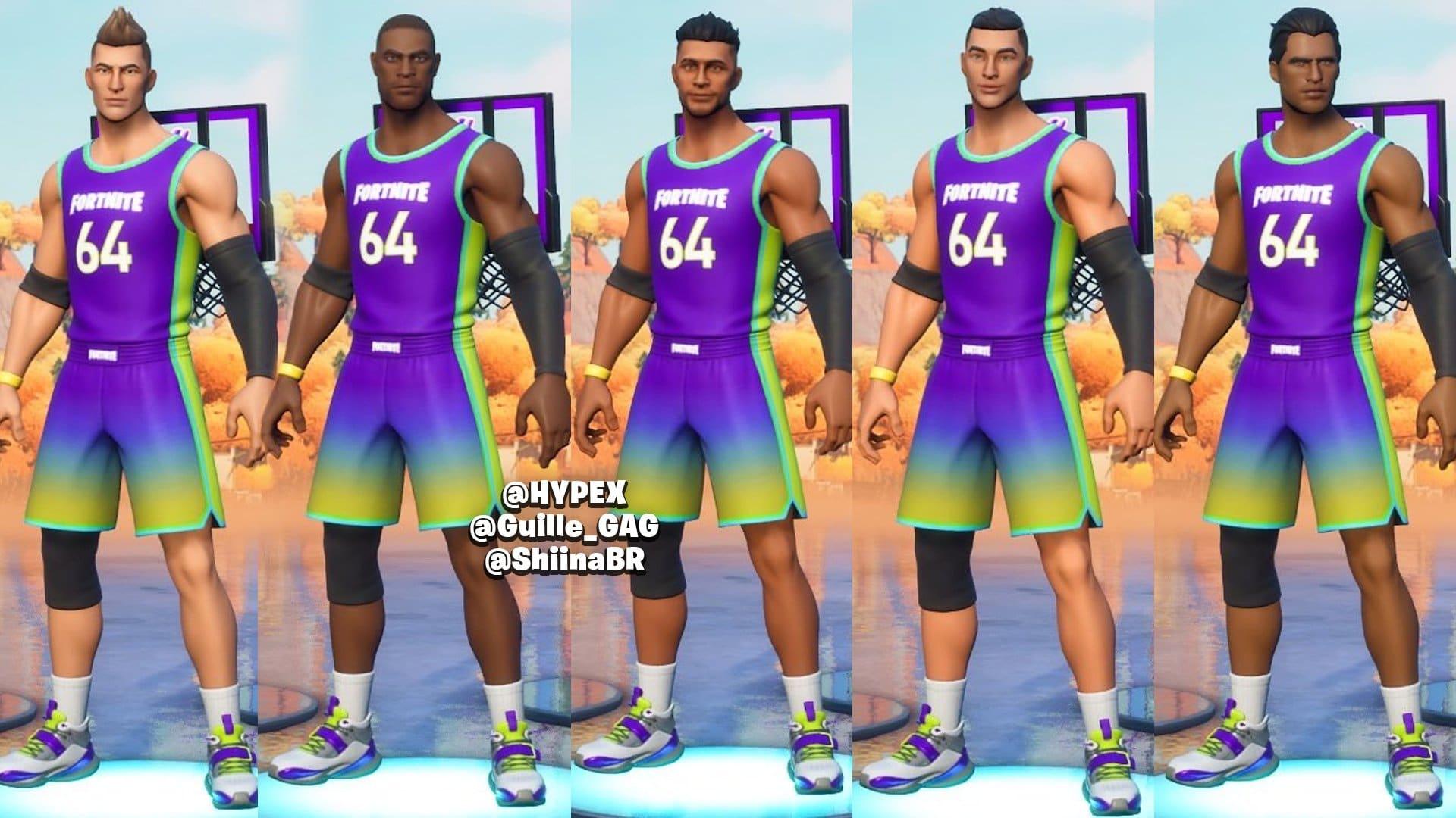 скинов баскетбольного ивента НБА в фортнайт 1 - Сливы скинов баскетбольного ивента НБА в фортнайт