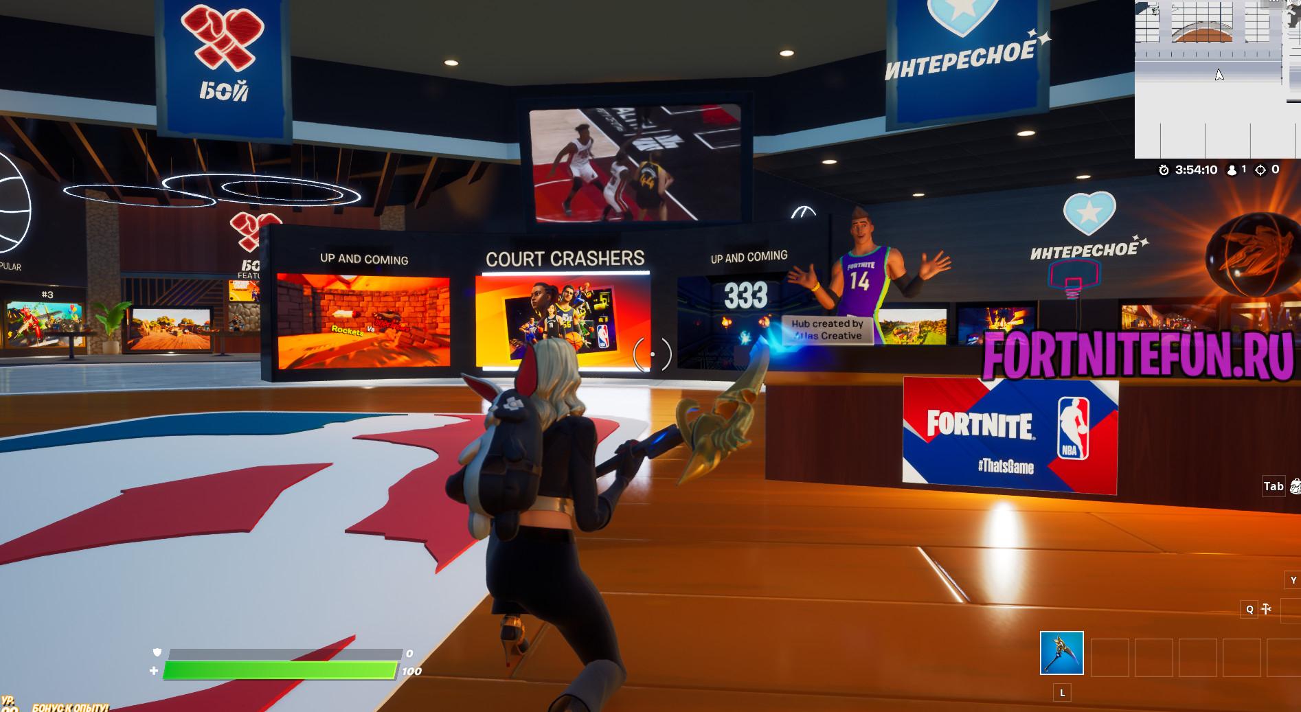 матч в режиме Новый баскетбол 2 - Испытания NBA в творческом режиме на опыт - прохождение