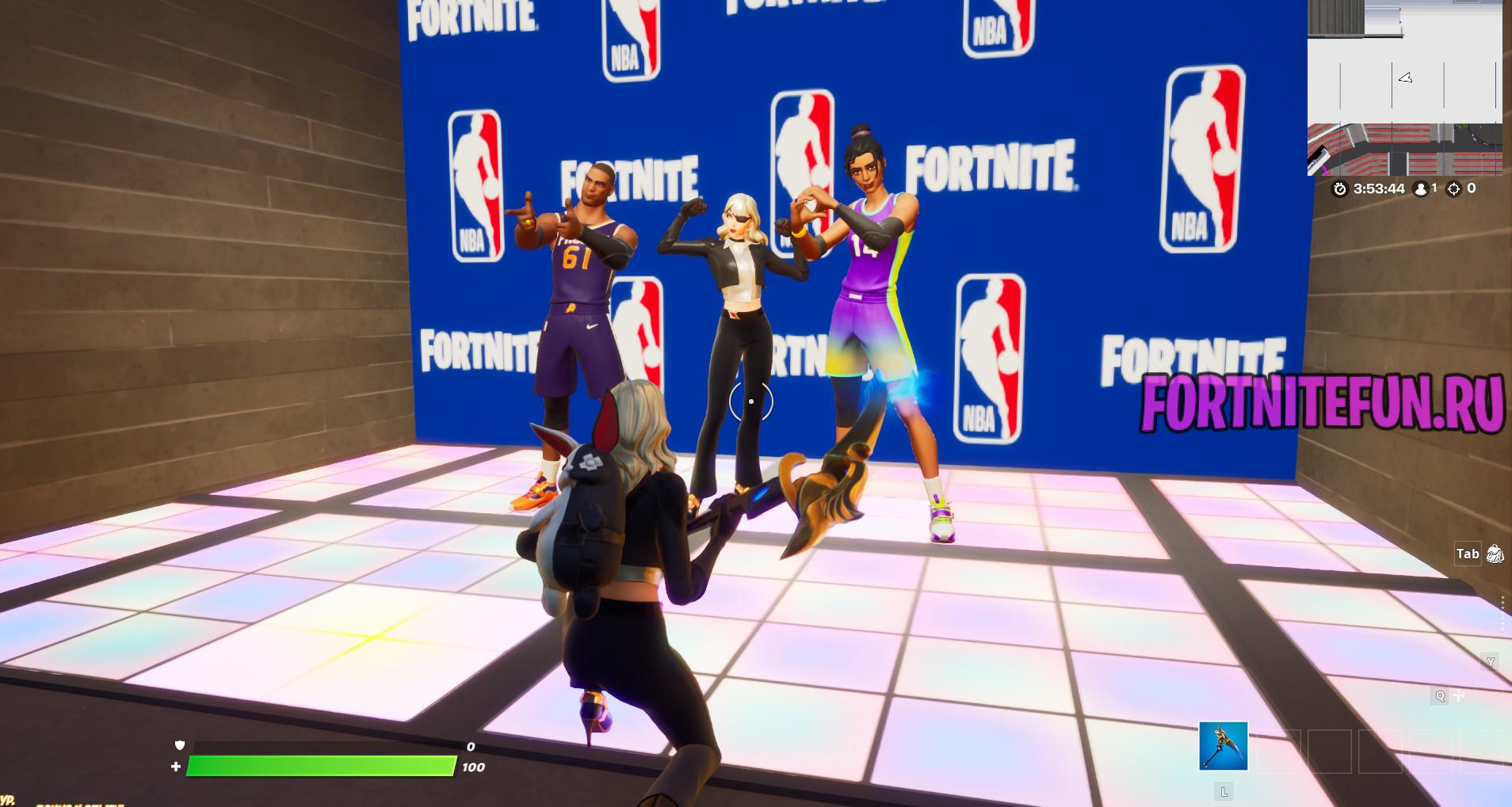 с баскетболистами - Испытания NBA в творческом режиме на опыт - прохождение