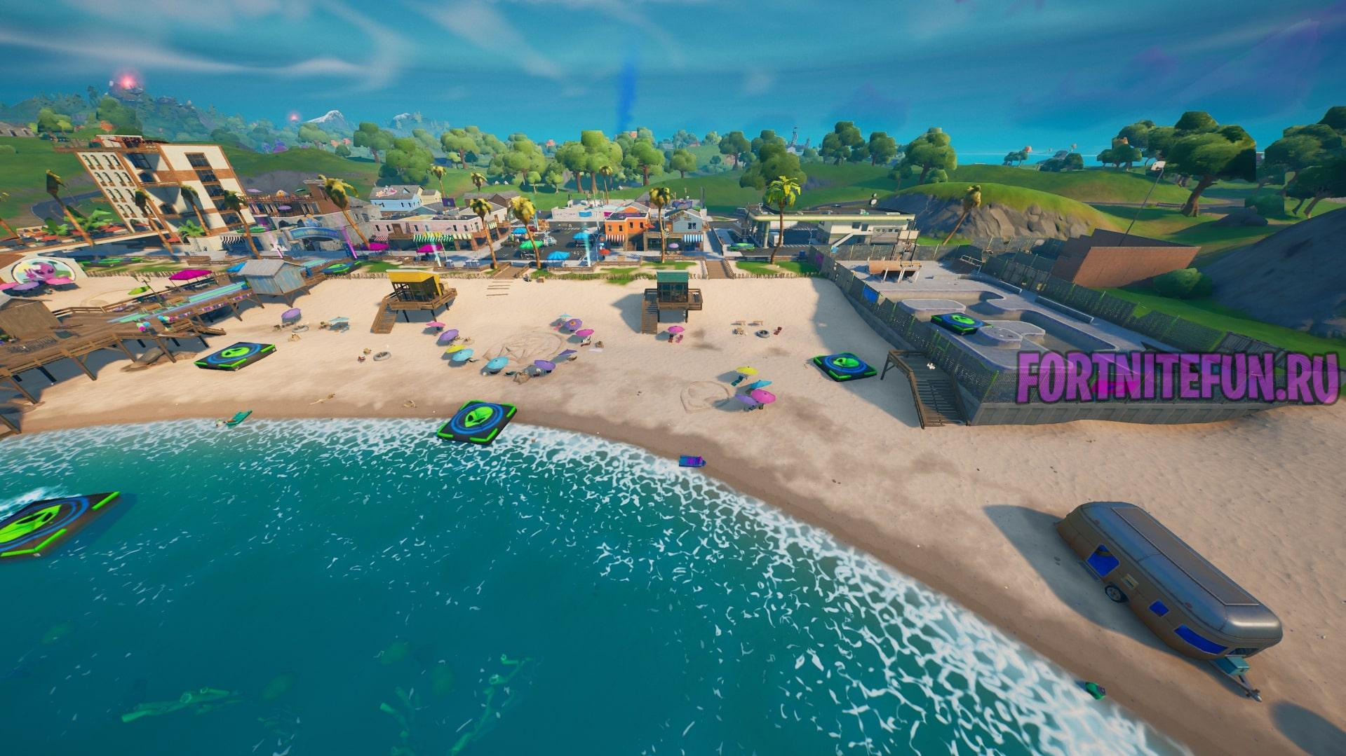 Прибытия 1 - Пляж Прибытия (Believer Beach)