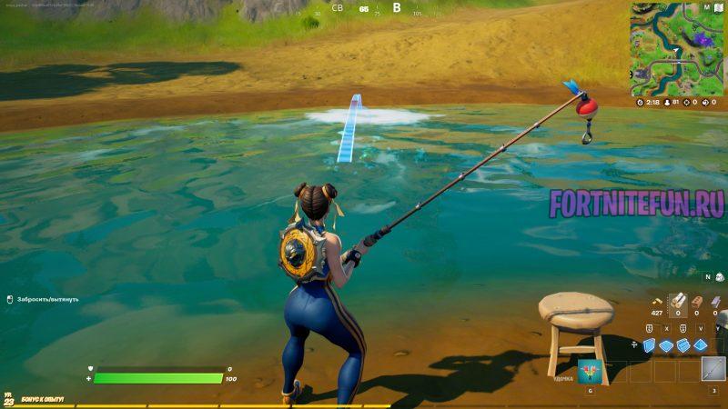 рыбу в рыбных местах 2 800x450 - Эпические испытания 3-й недели 17 сезона — чит-карты и прохождение