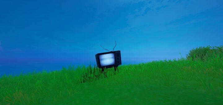 жуткие телевизоры 2 720x340 - Уничтожьте жуткие телевизоры / Сюжетное испытание фортнайт