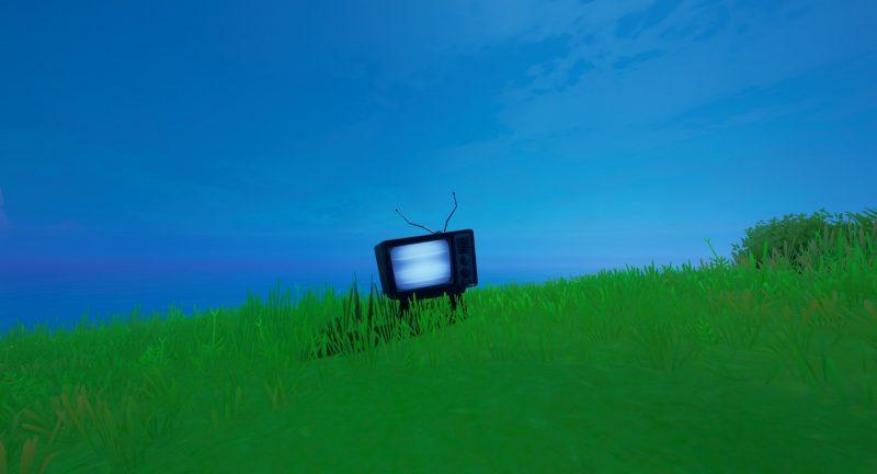 жуткие телевизоры 2 800x432 - Уничтожьте жуткие телевизоры / Сюжетное испытание фортнайт