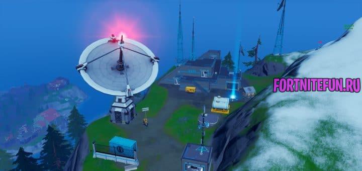 Все базы ОП (Радары) в 17 сезоне фортнайт