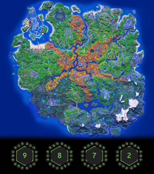 8 - Мини-ивент в Дискорд сервере фортнайт: контакт с НЛО, персонаж Мари