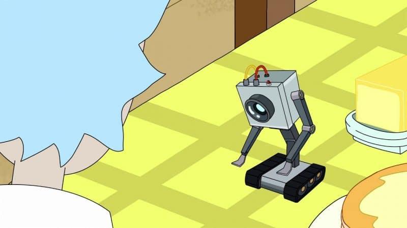 E3SOu1LWQAASL D 800x450 - Робот из мультсериала Рик и Морти появится в 17 сезоне фортнайт