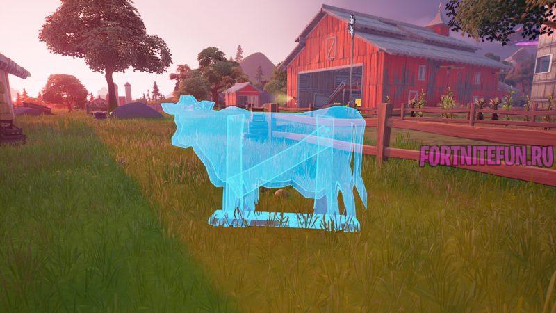 обманки в виде коров на фермах 2 800x450 - Легендарные испытания 6-й недели 17 сезона — чит-карты и прохождение