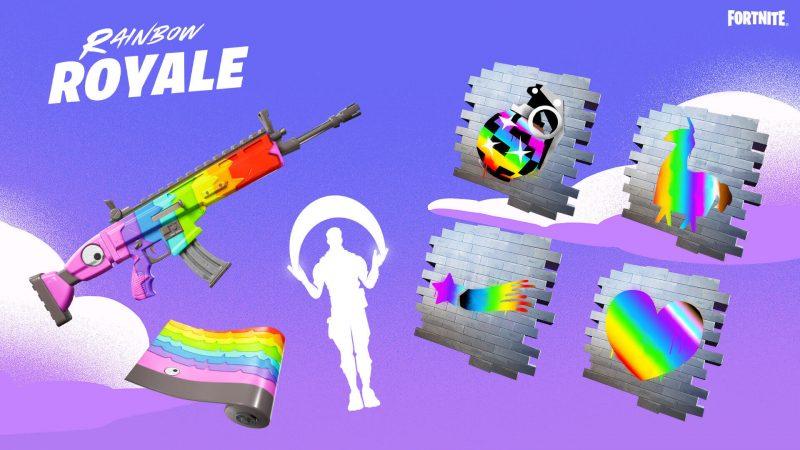 fortnite rainbow royale free items 1920x1080 1920x1080 c1354d180abe 800x450 - Как получить бесплатные предметы в фортнайт: эмоция, обертка и граффити
