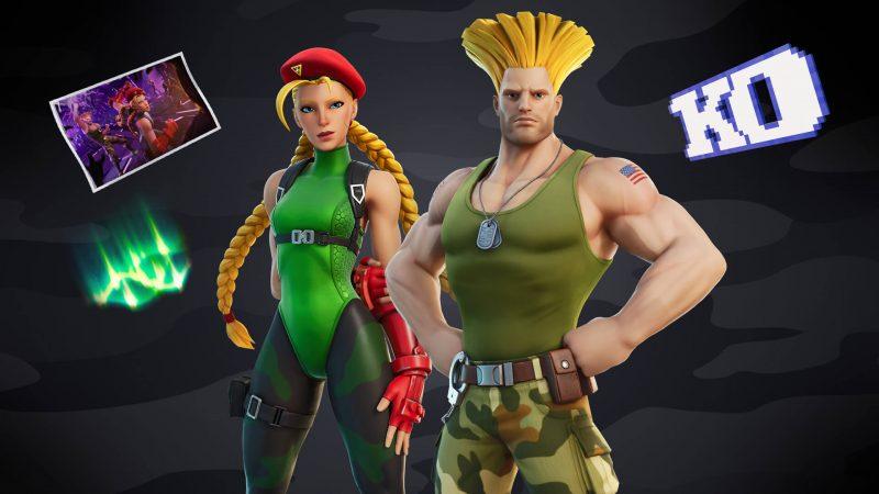 и Гайл из Street Fighter в фортнайт скины и турнир 800x450 - Кэмми и Гайл из Street Fighter в фортнайт: скины и турнир