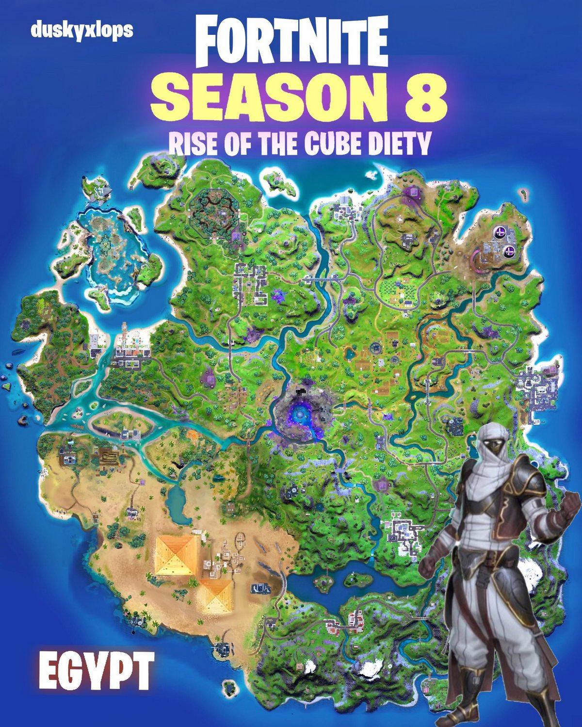 новые локации появятся в 18 сезоне фортнайт 1 - Три новые локации появятся в 18 сезоне фортнайт