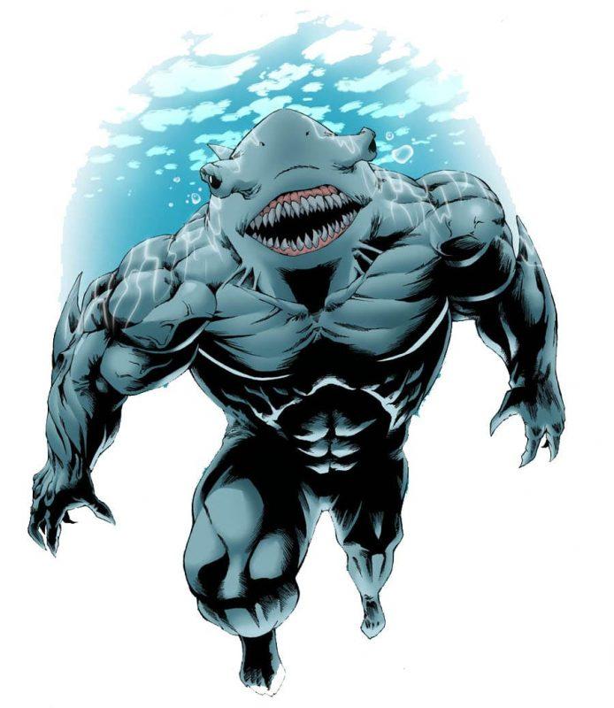 акул в фортнайт 694x800 - Человек в горошек, Король Акул и Миротворец из DC появятся в фортнайт