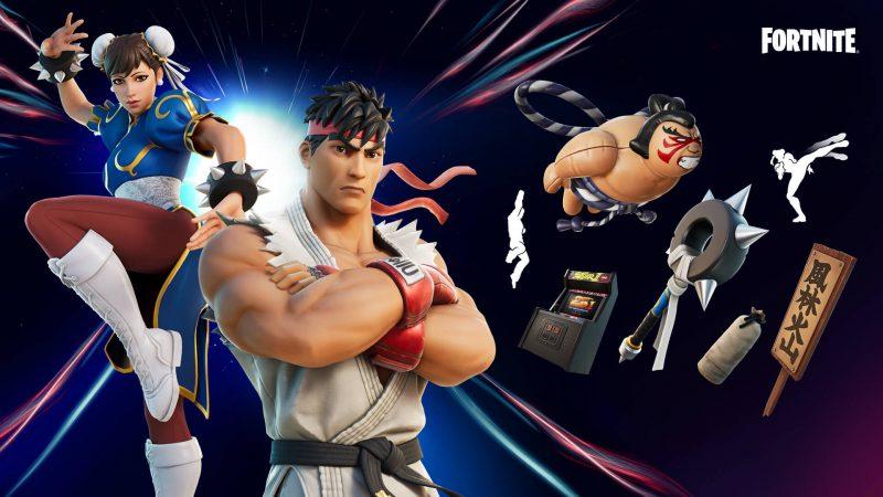 и чан ли в фортнайт 800x450 - Кэмми и Гайл из Street Fighter в фортнайт: скины и турнир