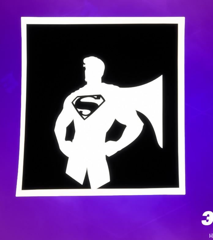 для флага - Как получить секретный скин Супермена в фортнайт? Испытания Кларка Кента - прохождение