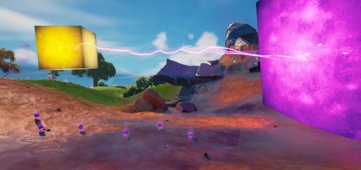 куб активировал фиолетовый куб у Пляжа Прибытия  720x340 - Золотой куб активировал фиолетовый куб у Пляжа Прибытия