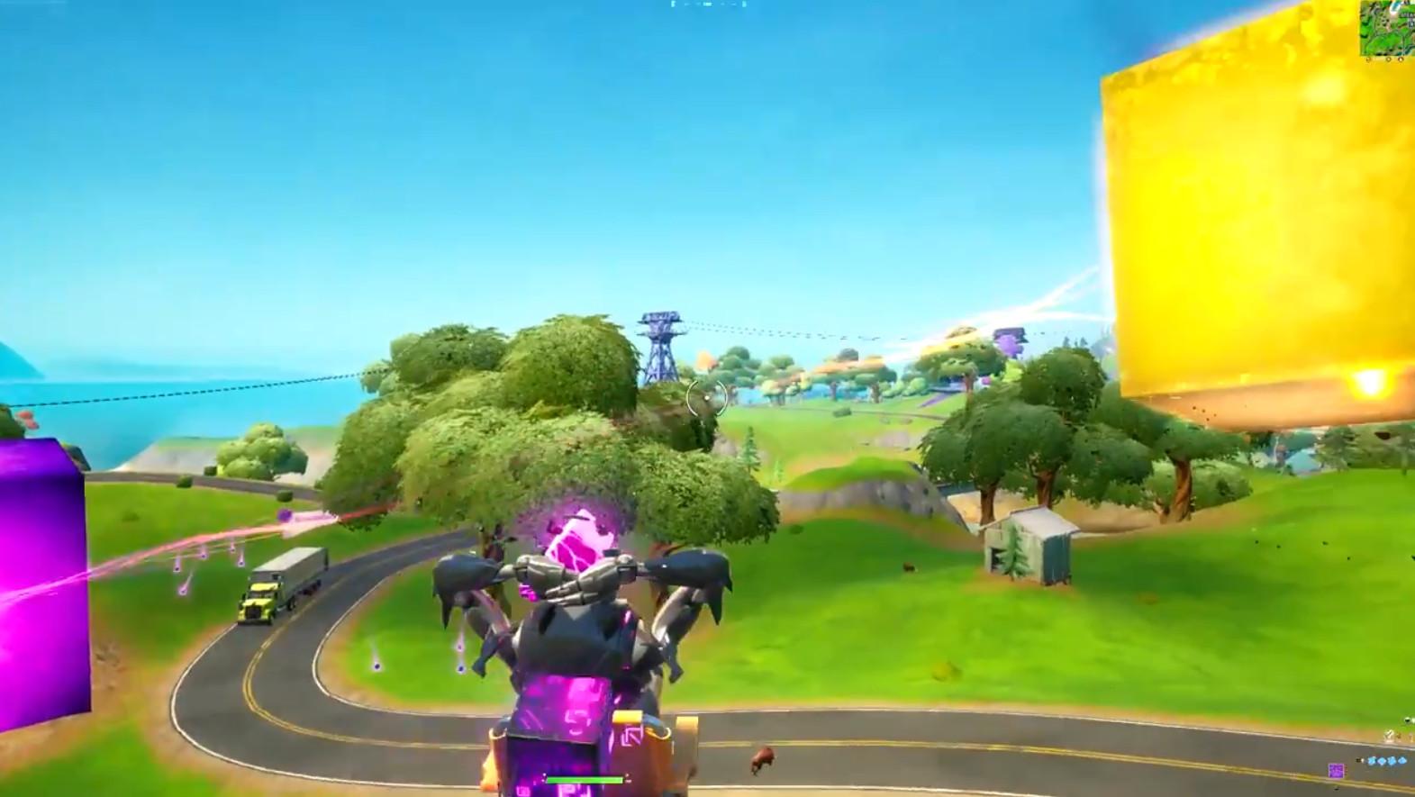 Градирен вышел новый фиолетовый куб и он не похож на других  - Из Градирен вышел новый фиолетовый куб и он не похож на других