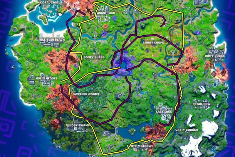 перемещения кубов в фортнайт 18 сезон 800x537 - Кубы планируют объединиться и разрушить остров фортнайт