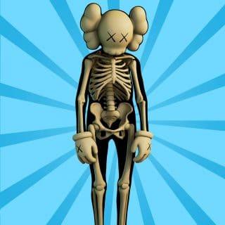 kawsskeleton img 320x320 - Скелет KAWS (KAWS Skeleton)